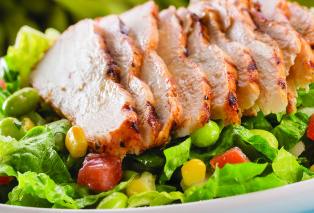 grilled chicken and edamame salad grilled chicken and edamame salad ...