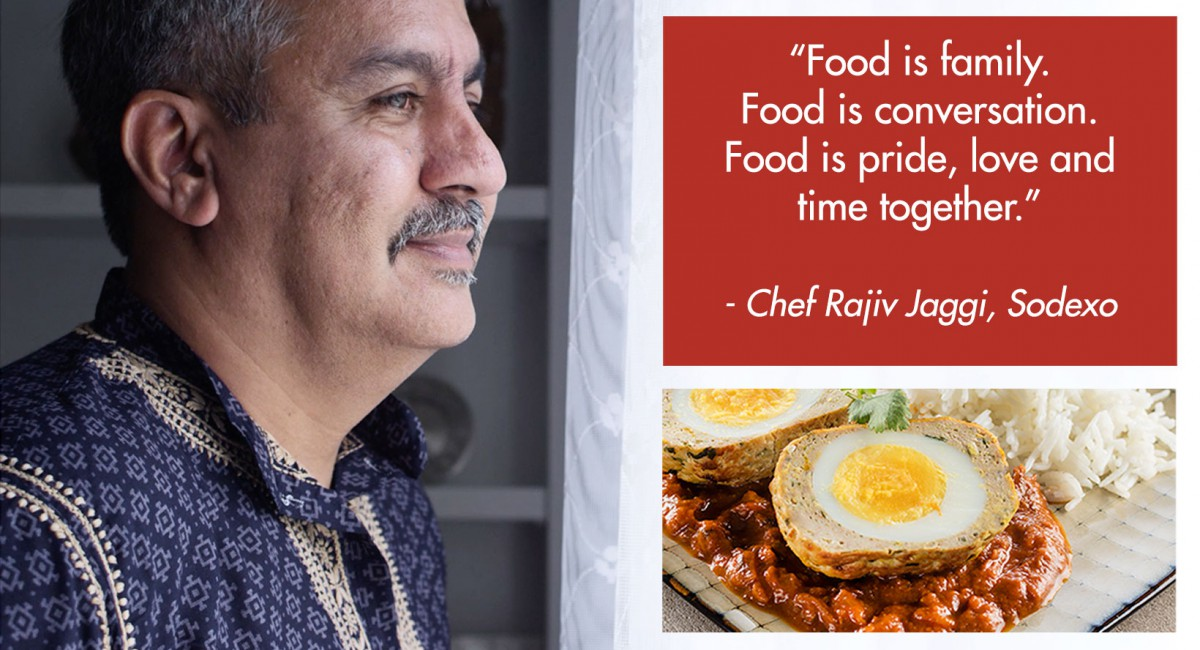 Sodexo Culinary Excellence: Chef Rajiv's Story